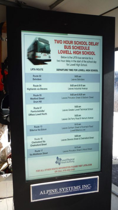 lowell bus delay close 2rear page upper left -2